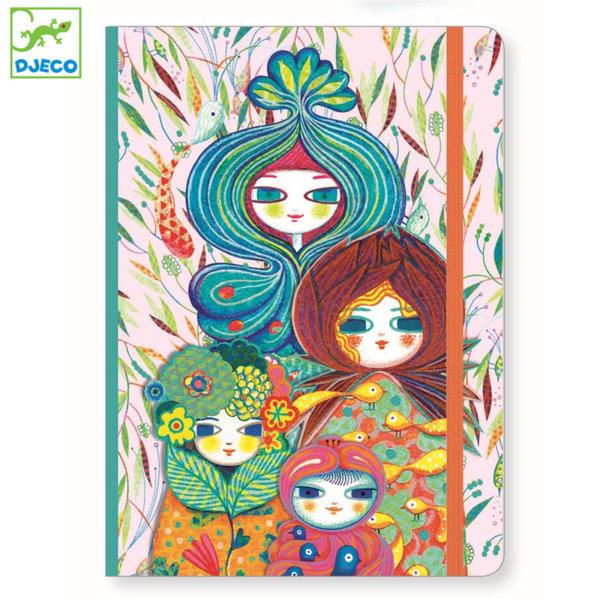 Djeco - Lovely paper Тефтер с твърди корици Муриел 03571