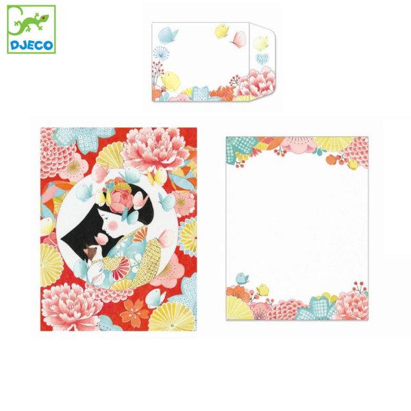 Djeco - Lovely paper Комплект за писма Миса 03601