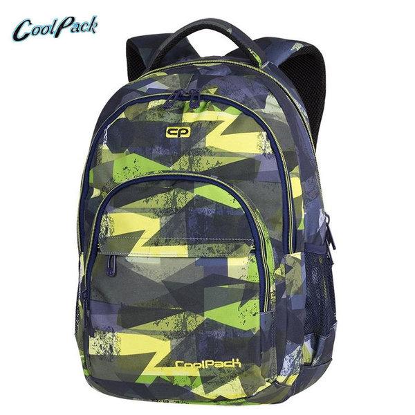 Cool Pack Basic Plus - Ученическа раница Lime  Abstract A144