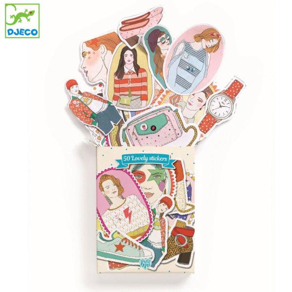 Djeco - Lovely paper Комплект стикери Натали 03710