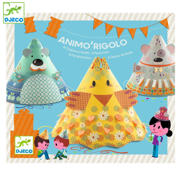 Djeco - Детски шапки за парти 02077