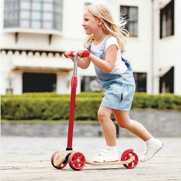 Hape - Детски дървен скутер H1053