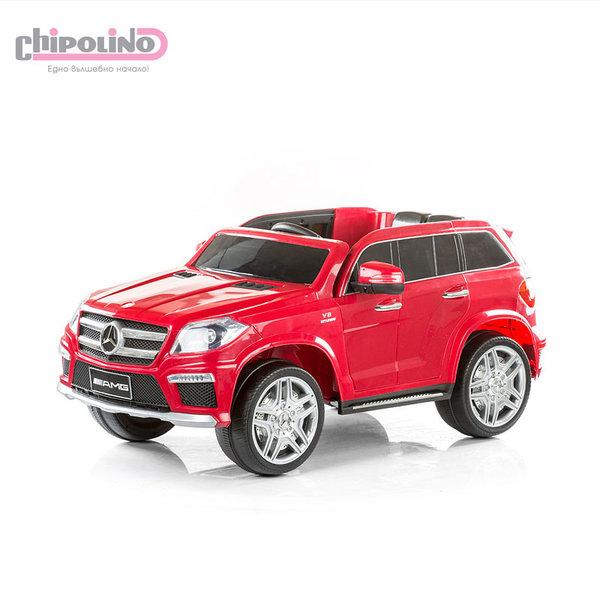 Chipolino - Акумулаторен джип Mercedes Benz GL63 AMG червен