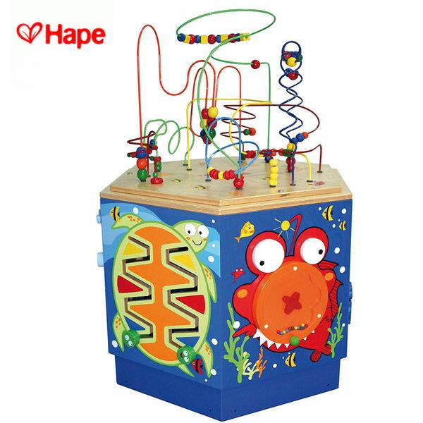 Hape - Детски дървен занимателен център Коралов риф H1907