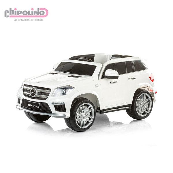 Chipolino - Акумулаторен джип Mercedes Benz GL63 AMG бял