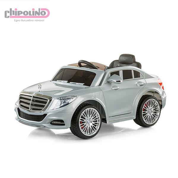 Chipolino - Акумулаторна кола Mercedes Benz S Class с дистанционно сребърна