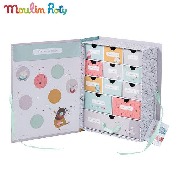 Moulin Roty - Кутия за съхранение на бебешки спомени 665107