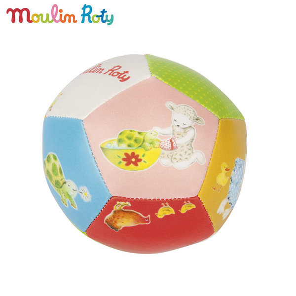 Moulin Roty - Бебешка топка La Grande Famille 10см 632511