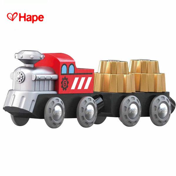 Hape - Влакче с вагони зъбни колела H3751