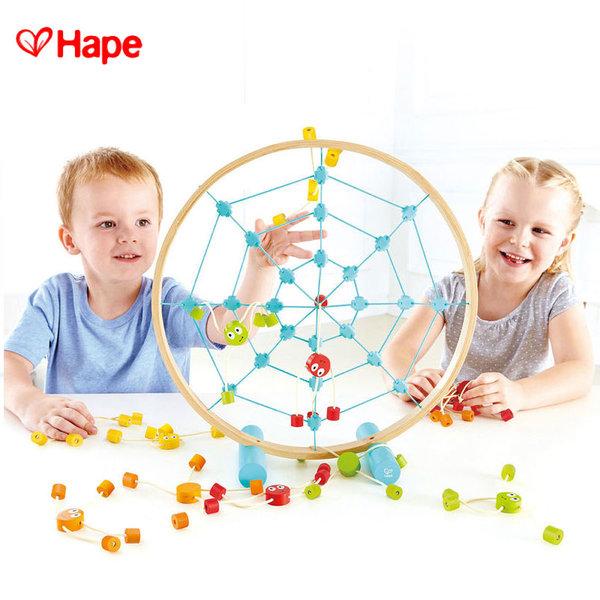 Hape - Забавна игра Хвърли паячетата H5555