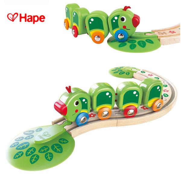 Hape - Влакче гъсеничка H3818