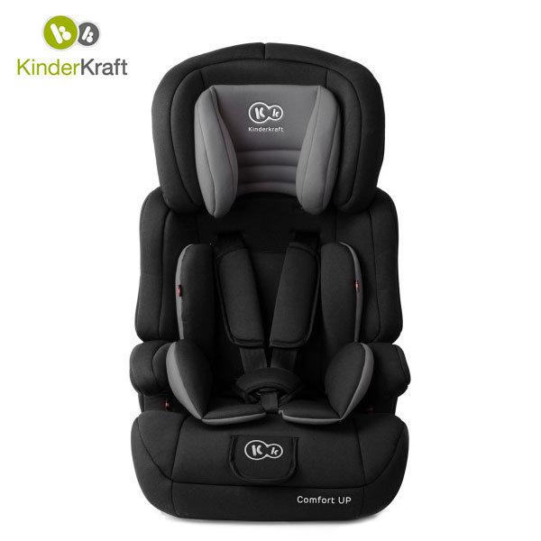KinderKraft - Столче за кола Comfort Up 9-36 kg черно 99234