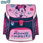 Scooli Disney Minnie Mouse - Ученическа ергономична раница 5 части Мини Маус 27158