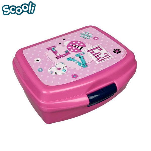 Scooli Ladybug - Кутия за закуски Калинка 27524