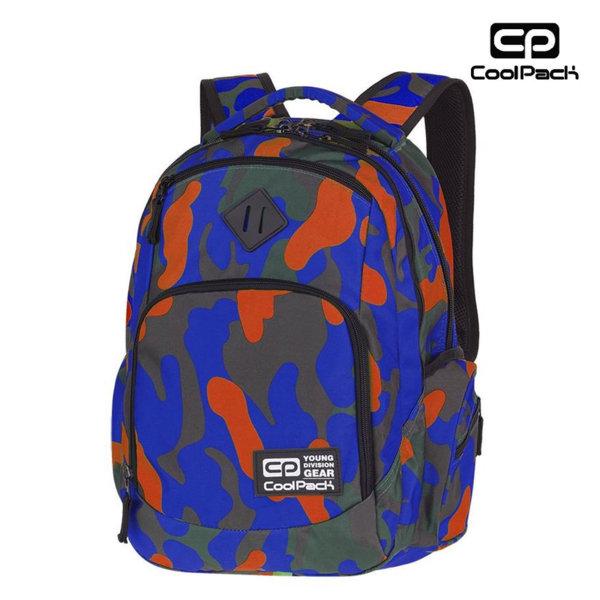 Cool Pack Break Camouflage - Ученическа раница Tangerine A339