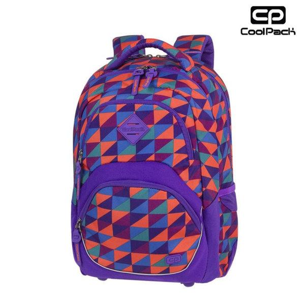 Cool Pack Viper - Ученическа раница Triangle Mosaic A581