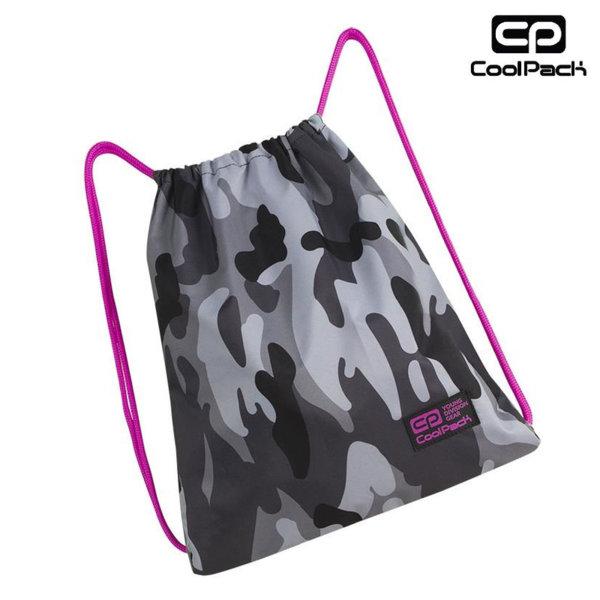 Cool Pack Sprint - Спортна торба Camo Pink Neon A362