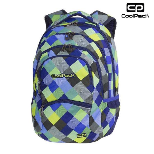 Cool Pack College - Ученическа раница Blue Patchwork A496