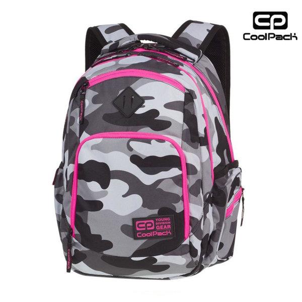 Cool Pack Break Camouflage - Ученическа раница Camo Pink Neon A356
