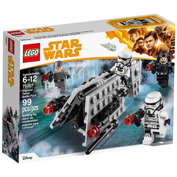 Lego 75207 Star Wars - Боен комплект с имперски патрул