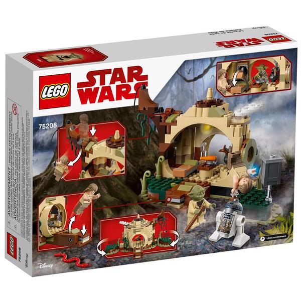 Lego 75208 Star Wars - Хижата на Йода