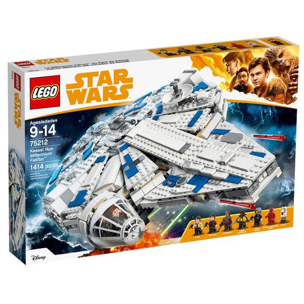 Lego 75212 Star Wars - Хилядолетния Сокол в обиколката на Кесъл