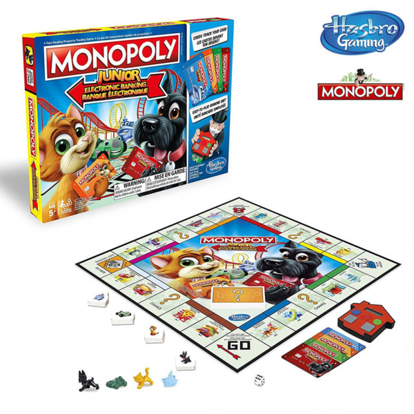 Hasbro Monopoly - Монополи Junior електронно банкиране E1842