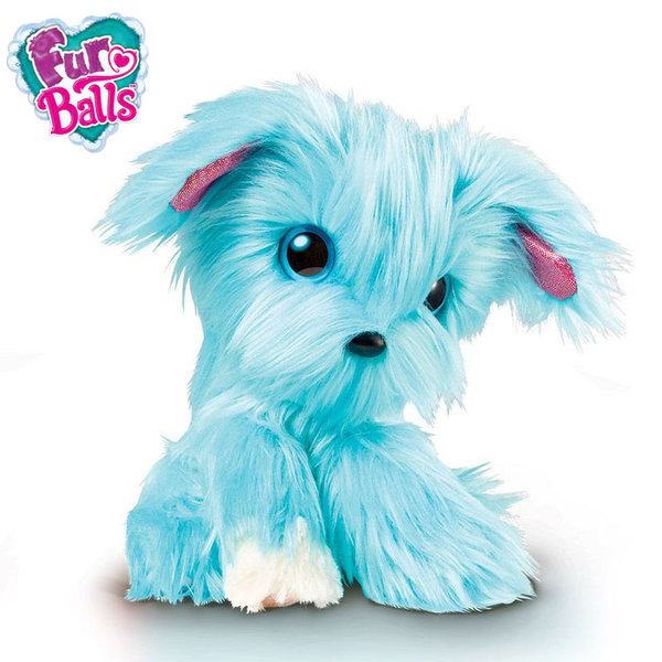 FurBalls - Плюшено животинче синьо 635FUA06