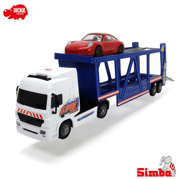 Simba Dickie - Автовоз с една кола 38см 203747004