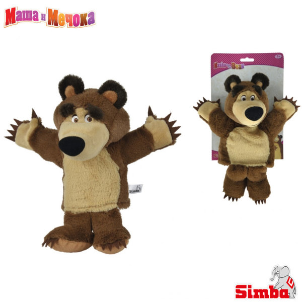 Simba Маша и Мечока - Кукла за куклен театър Мечока 109308207