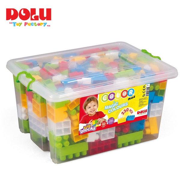 Dolu - Детски конструктор в кутия 230 части Magic Colors 5093