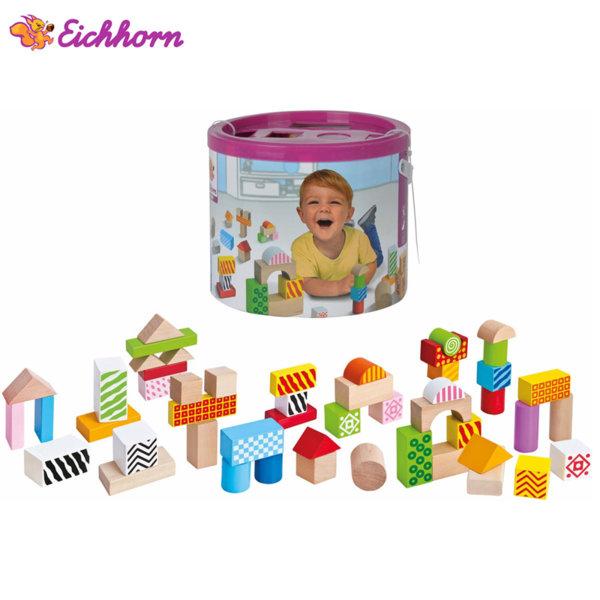 Eichhorn - Дървени кубчета строител 100002226