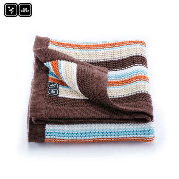 ABC Design - Одеяло за количка brownie