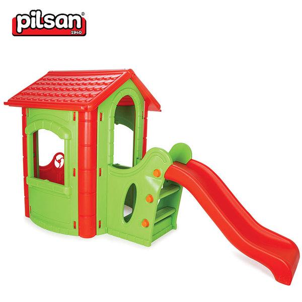Pilsan - Детска къща с пързалка 06432