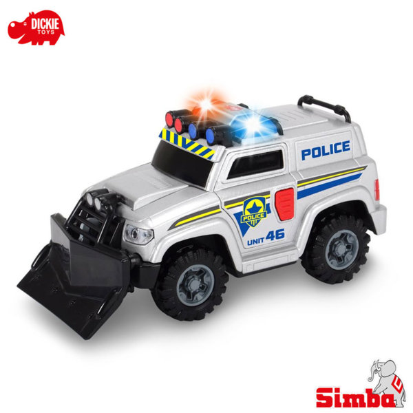 Simba Dickie - Полицейска кола със звук и светлина 15см 203302001