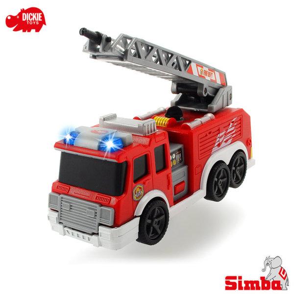Simba Dickie - Пожарна кола със звук и светлина 15см 203302002