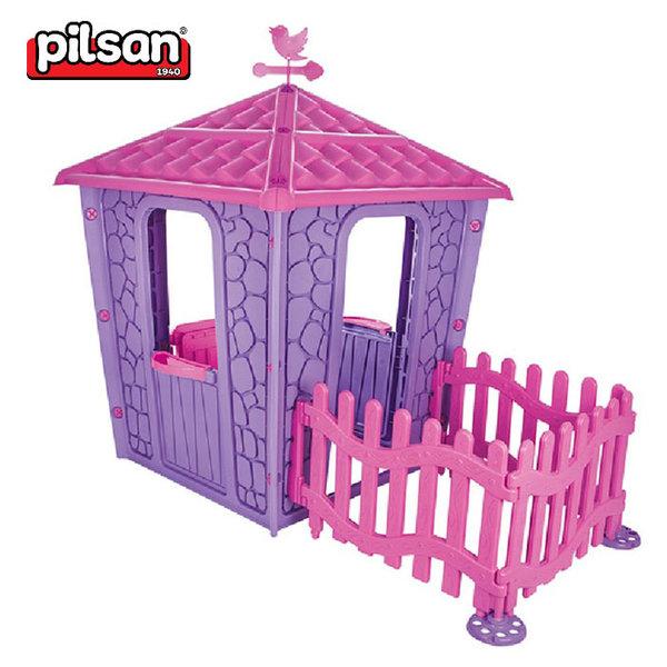 Pilsan - Детска каменна къща с ограда 06443