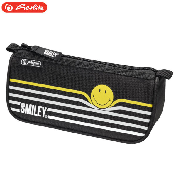 Herlitz - Ученически несесер sport Smiley B&Y Stripes 50015351