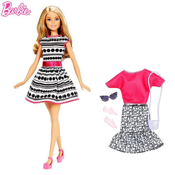 Barbie - Кукла Барби с втори тоалет блондинка FFF58