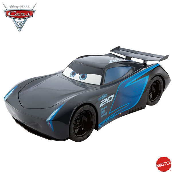 Mattel - Disney Cars Кола Jackson Storm 50 см FLK16