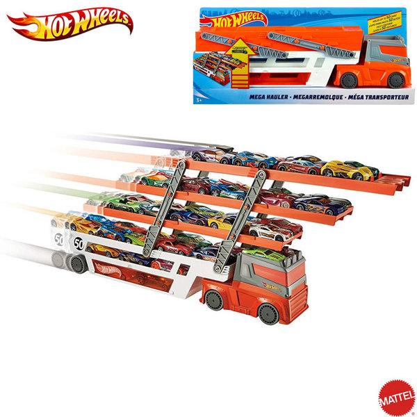 Hot Wheels - Голям автовоз за 50 колички FTF68