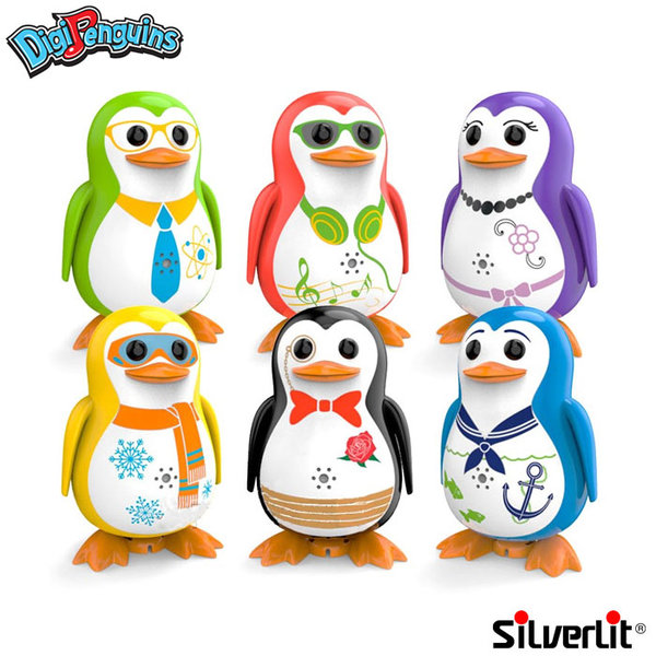 Silverlit - DigiPenguins Дигитален пеещ и танцуващ пингвин 88333