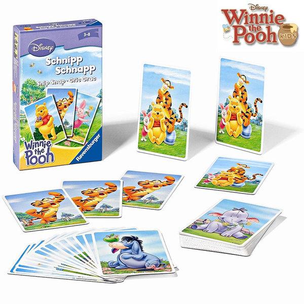 Ravensburger - Детски карти за игра Disney Мечо Пух 81811