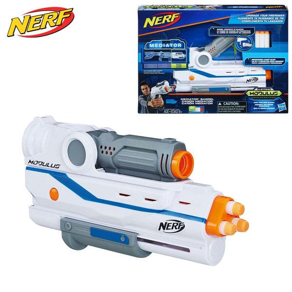 Hasbro Nerf - Нърф Modulus Пистолет Mediator Barrel E0029