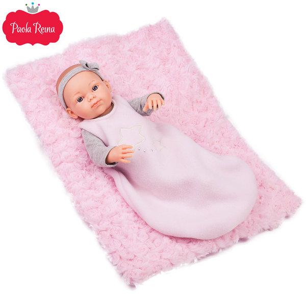 Paola Reina - Pikolines Кукла бебе Rosa с постелка 32см 05108