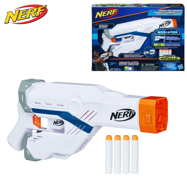 Hasbro Nerf - Нърф Modulus Пистолет Mediator Stock E0029