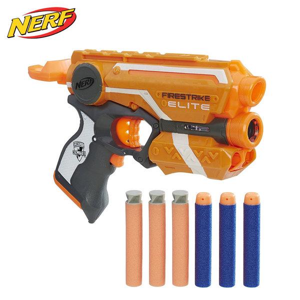 Hasbro Nerf - Нърф Елит Бластер Firestrike E0441