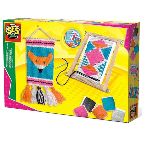SES Creative - Направи си тъкани декорации за стена 14103