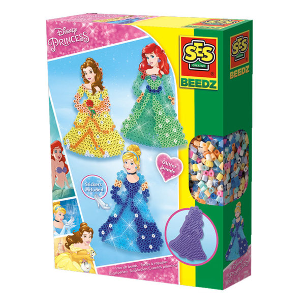 SES Creative Beedz - Disney Мозайка с мъниста Дисни принцеси 06293