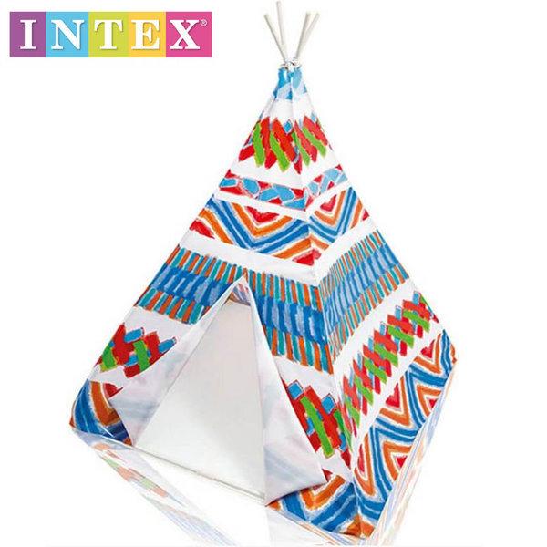 Intex - Детска индианска палатка за игра 48629